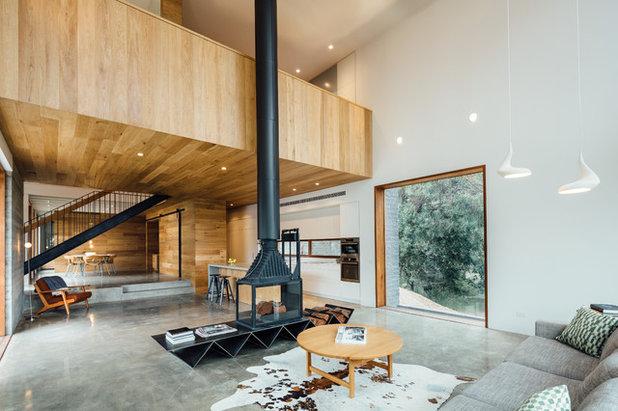 Contemporáneo Salón by Moloney Architects