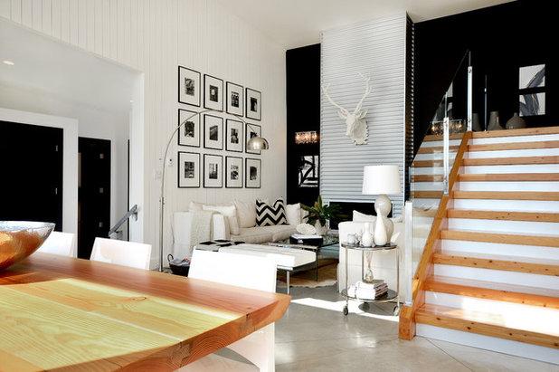Contemporary Living Room by Dawna Jones Design