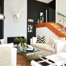 Modern Living Room by Dawna Jones Design