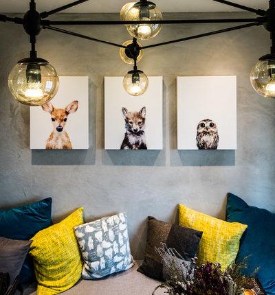 Modern Living Room by The Inside Job