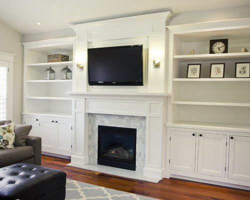 Fireplace Built Ins | Houzz