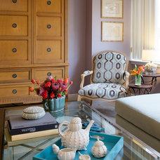 Transitional Living Room by Elizabeth Drake of Drake Interiors Limited
