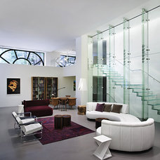 Contemporary Living Room by Robert Granoff