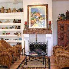 Mediterranean Living Room by Lampert Dias Architects, Inc.