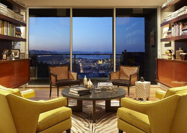 Contemporary Living Room by Geoffrey De Sousa Interior Design