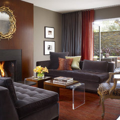 contemporary living room by Geoffrey De Sousa Interior Design