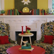 Eclectic Living Room by Dear Daisy Cottage