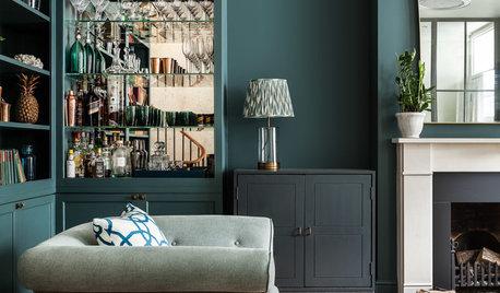 Фотоохота: Темно-зеленые стены — 21 идея