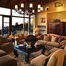 Contemporary Living Room by Debra Campbell Design