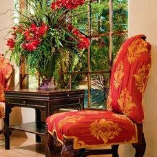 Mediterranean Living Room by Debra Campbell Design