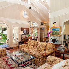 Traditional Living Room by Debra Campbell Design