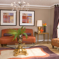 Contemporary Living Room by Decorating Den Interiors --The Sisters & Company