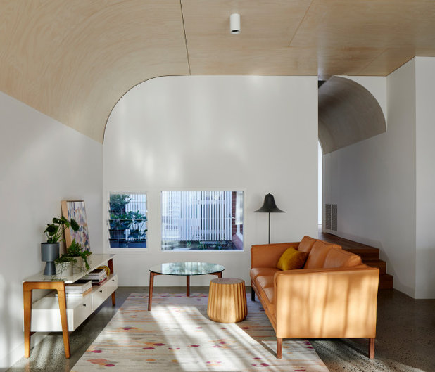 Contemporary Living Room by Mihaly Slocombe
