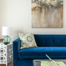 Traditional Living Room by Stephani Buchman Photography