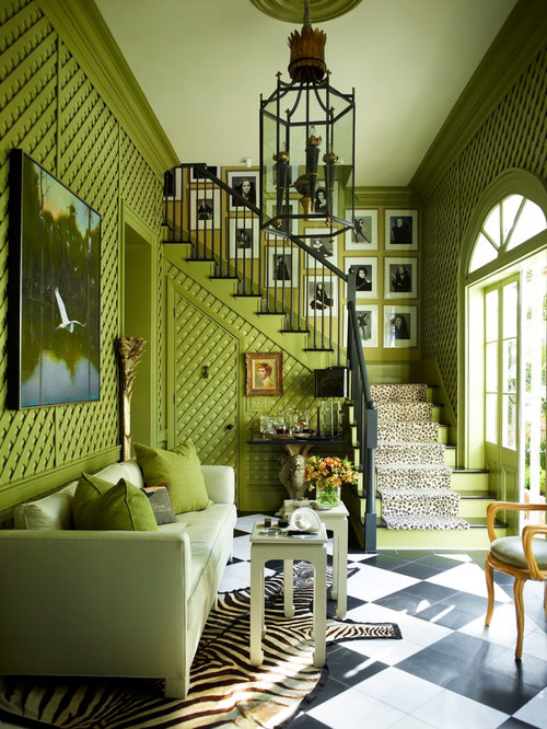 Candy apple green formal living room design ideas for Apple green living room ideas