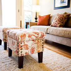 Traditional Living Room by Jamie McNeilis, Accredited Staging Professional
