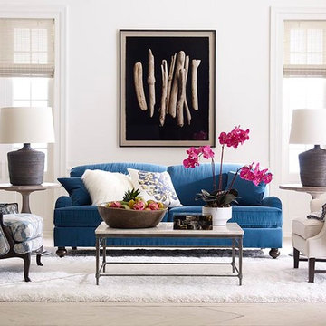 Decorating with True Blue