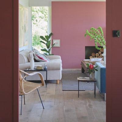 Contemporary Living Room by Farrow & Ball