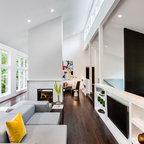Georgetown Square Contemporary Living Room Dc Metro