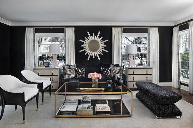 Transitional Living Room by Jones-Keena & Co.