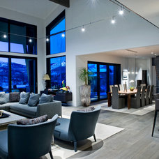 Contemporary Living Room by Sapp Development Group