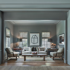 Traditional Living Room by Cusimano Architect