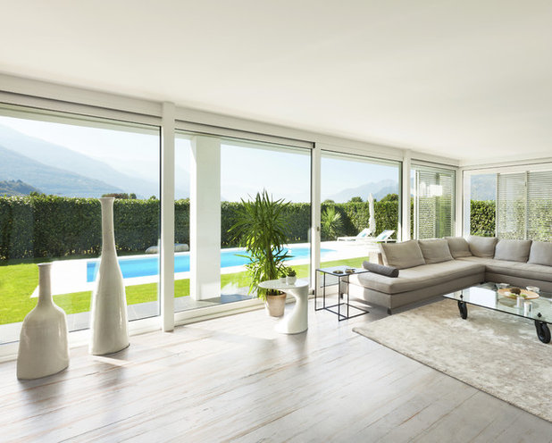 Contemporary Living Room by Cosentino