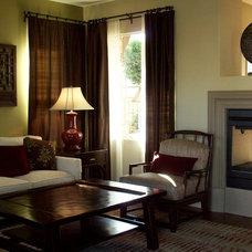 Contemporary Living Room by Kelly Smiar Interior Design