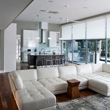 Contemporary Living Room by Ratliff Architecture + Urban Design, pl
