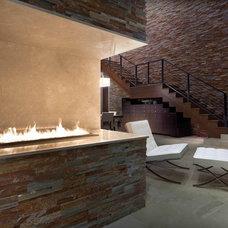 Modern Living Room by Phil Kean Design Group