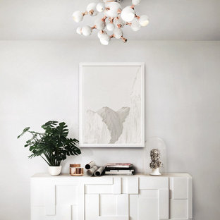 Trendy living room photo in Other