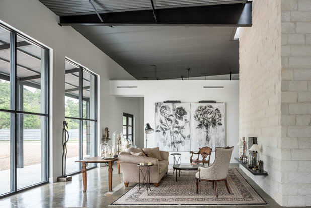 Industrial Living Room by CONTENT Architecture