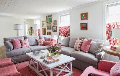 Lyft din neutrala soffa med färg i accenter och accessoarer