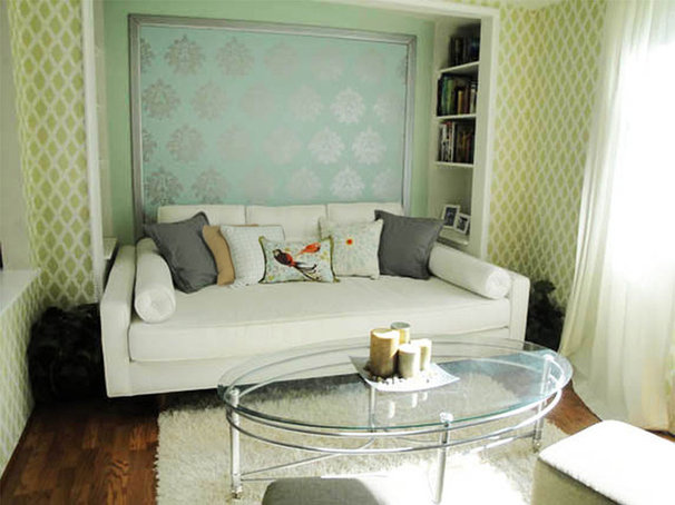 Eclectic Living Room by Scarlett Designs