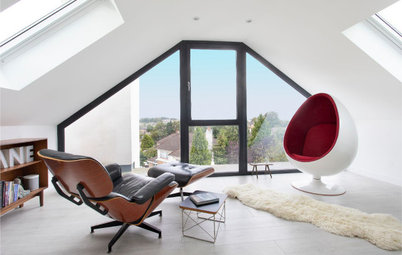 UK Houzz Tour: An Unusual Side Extension Reinvents a Tired House