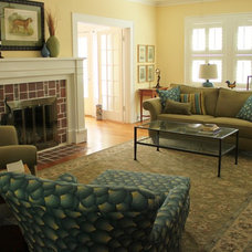 Traditional Living Room by Practical Design Home Interiors