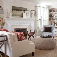 Contemporary Living Room by Andrea Schumacher Interiors