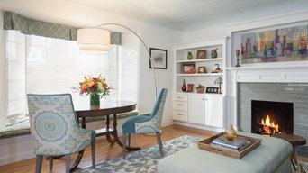Denver, Mayfair Transitional Living Room