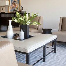 Contemporary Living Room by D&D Interiors / Mikhail Dantes