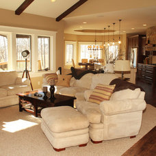 Traditional Living Room by Bella Homes