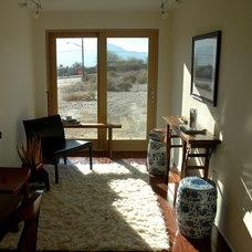 Modern Living Room by Residential Design + Color, LLC