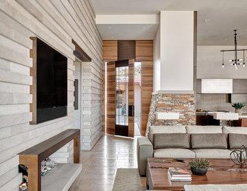 Desert Prairie / Living Room to Entry