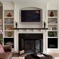 Traditional Living Room by Sterling Wilson Design