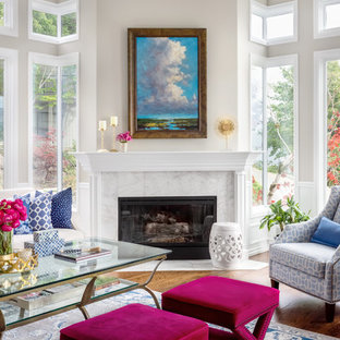 Example of a living room design in Seattle