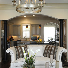 Traditional Living Room by Design By Todd
