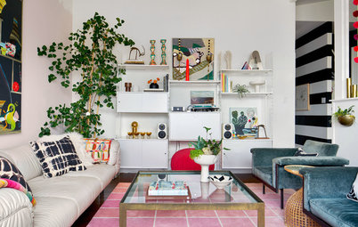 Room of the Week: A Colourful Living Room Filled With Vintage Finds