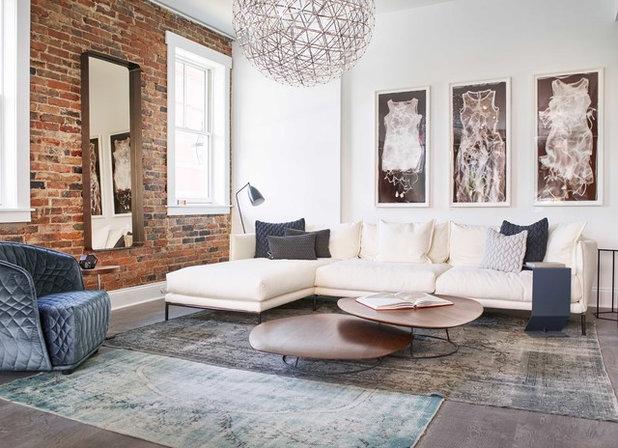 flash tendencias: atrévete con las alfombras superpuestas