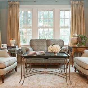 traditional window treatments floor to ceiling example of large classic formal and enclosed medium tone wood floor living room design in living room window treatments houzz