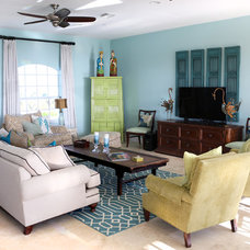 Asian Living Room by Shanghai Green Antiques