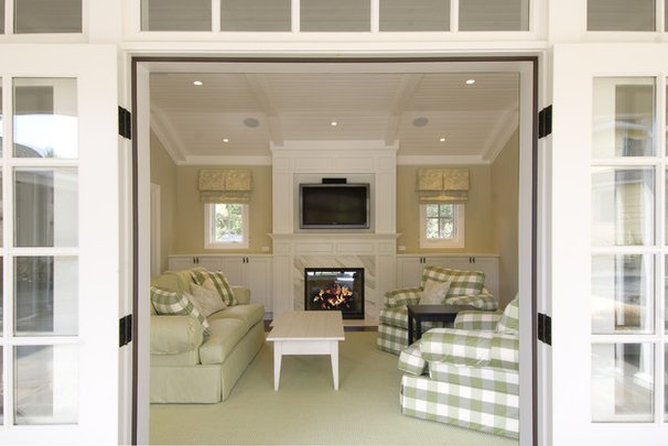 Traditional Living Room by Design Savvy